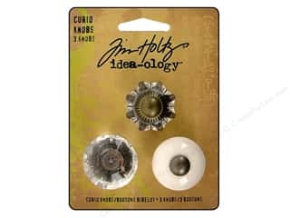 Tim Holtz Idea-ology Curio Knobs 3pc