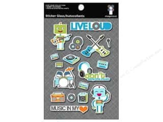 Imaginisce Stickers Live Loud Glass Double Platinum