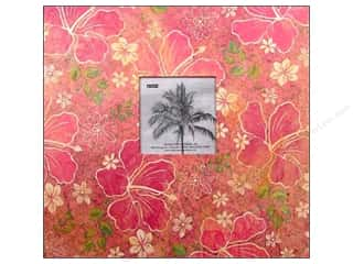 Pioneer Scrapbook 12&quot;x12&quot; Tropical Frame Hibiscus