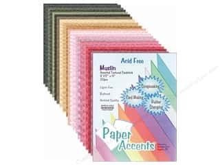 Papers $20 - $100: Cardstock Variety Pack 8 1/2 x 11 in. Assorted Muslin 20 pc. by Paper Accents