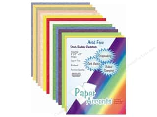 Clearance Blumenthal Favorite Findings: Cardstock Variety Pack 8 1/2 x 11 in. Assorted 40 pc.