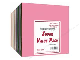 Cardstock Super Value Variety Pack  6 x 6 in. 300 pc.