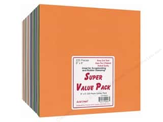 "Drawing Height: Paper Accents Super Value Variety Pack 8""x 8"" 225pc"