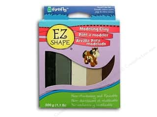 EZ Shape Modeling Clay Set Neutral 5pc