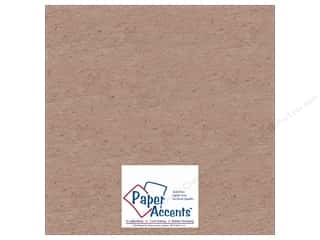 Fairfield Eco Friendly /Green Products: Paper Accents Chipboard 12 x 12 in. 20 pt. Light Weight Natural (25 sheets)