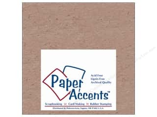 Fairfield Eco Friendly /Green Products: Paper Accents Chipboard 6 x 6 in. 52 pt. Extra Heavy Natural (25 sheets)