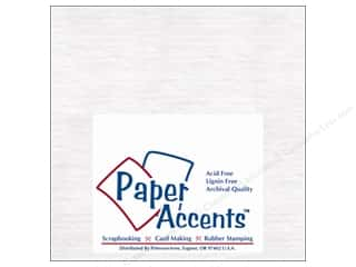 Chipboard Chipboard Embellishments: Paper Accents Chipboard 6 x 6 in. 50 pt. Extra Heavy White (25 sheets)