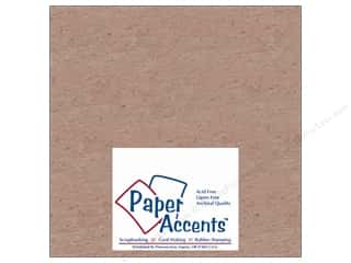 Clearance Blumenthal Favorite Findings: Paper Accents Chipboard 8 x 8 in. Extra Heavy Natural (25 sheets)