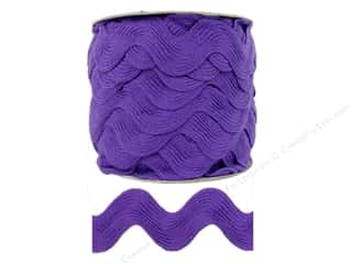 Jumbo Ric Rac by Cheep Trims  1 13/32 in. Purple