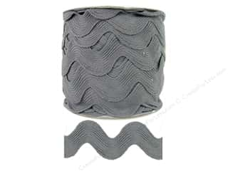 Jumbo Ric Rac by Cheep Trims  1 13/32 in. Grey (24 yards)