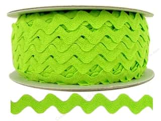 Ribbon Work Tapes: Ric Rac by Cheep Trims  1/2 in. Apple (24 yards)