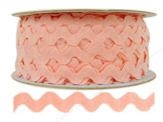 "Cheep Trims Ric Rac 1/2"": Ric Rac by Cheep Trims  1/2 in. Light Pink (24 yards)"
