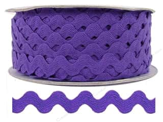 Ric Rac by Cheep Trims  1/2 in. Purple (24 yards)