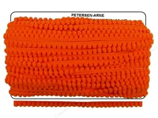 Cheep Trims Pom Pom 1/4&quot; Fringe 3/8&quot; Orange (36 yards)