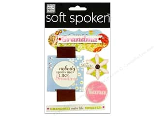 2013 Crafties - Best Adhesive: MAMBI Sticker Soft Spoken Nest Grandma