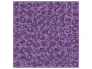 Bazzill 12 Sheets: Bazzill 12 x 12 in. Cardstock Glazed Easter Egg Snapdragon 15 pc.
