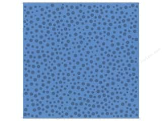Bazzill Cardstock 12x12 15pc Glazed Polka Dot Evening Surf UPC