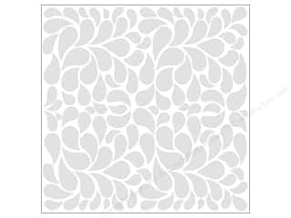 Bazzill Cardstock 12x12 15pc Glazed Fancy Feather Bazzill White UPC