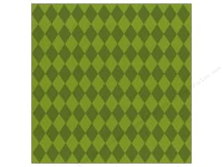 Glazed Cardstock: Bazzill Cdstk 12x12 15pc Glz Diamonds Parakeet
