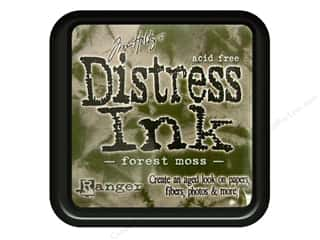 Tim Holtz New: Tim Holtz Distress Ink Pad by Ranger Forest Moss