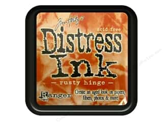 Tim Holtz Brown: Tim Holtz Distress Ink Pad by Ranger Rusty Hinge