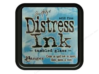 Brayers New: Tim Holtz Distress Ink Pad by Ranger Tumbled Glass