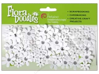 Petaloo FloraDoodles Jeweled Florettes White