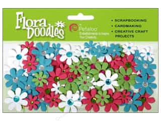 Petaloo FloraDoodles Jeweled Florettes T/FChart/W