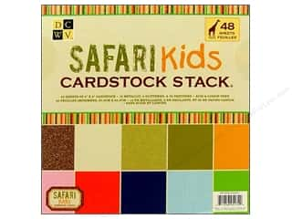 DieCuts Cardstock Stack 8x8 Safari Kids