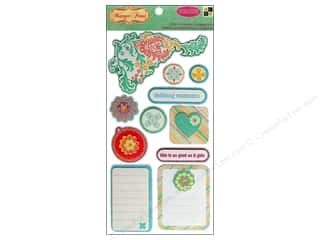 DieCuts Sticker Pop Ups Shapes Mango Frost