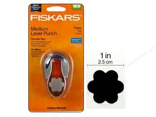 "Fiskars Lever Punch 1"" Poppy"
