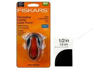 Fiskars Corner Lever Punch Large Cutting Radius