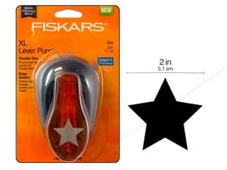 Fiskars: Fiskars Lever Punch XL Star 2 in.