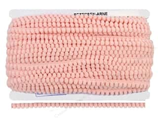 "Cheep Trims Pom Pom 1/4"" Fringe 3/8"" Light Pink (36 yards)"
