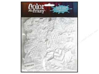 Petaloo Color Me Leaves Value Pack Velvet White 50pc