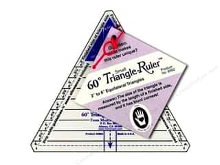 Michell Marketing Quilt Books: Marti Michell Ruler 60 deg. Equilateral Triangle