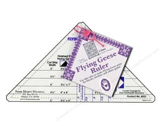 Weekly Specials Quilting: Marti Michell Ruler Flying Geese 5 Sizes