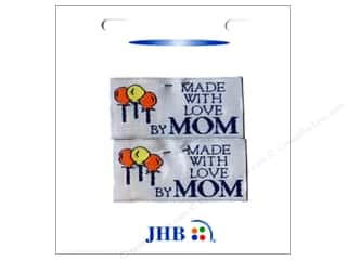 Mother's Day Clearance Crafts: JHB Sweetheart Labels Made with Love By Mom 2pc