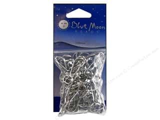 Blue Moon Beads Lanyard Hooks Silver 65pc