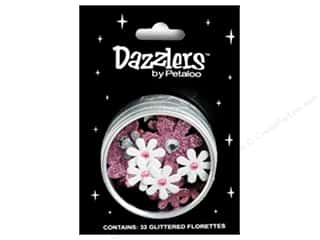 Petaloo Dazzlers Flower Tin Small Pink Poodle