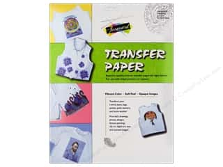 Jacquard Inks: Jacquard Transfer Paper For Light Fabrics 3pc