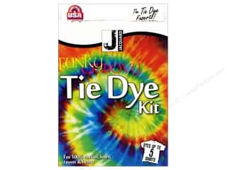 Fabric Painting & Dying Crafting Kits: Jacquard Tie Dye Kit Funky Groovy