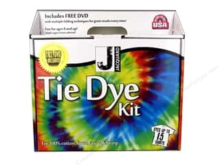 Fabric Painting & Dying Crafting Kits: Jacquard Tie Dye Kit Large