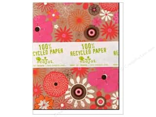 "Ecojot EcoNote Cards 4x5"" Kaleidescope 12pc"