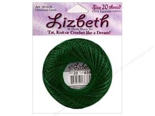 Handy Hands: Lizbeth Thread Size 20  #152 Christmas Green
