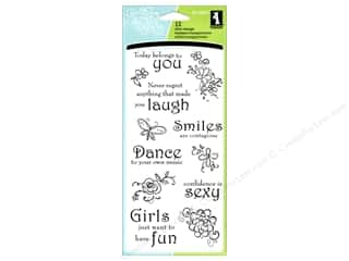 Sizzling Summer Sale Inkadinkado: Inkadinkado InkadinkaClings Clear Stamp Thoughts For The Day