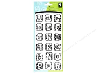 Inkadinkado Clear Stamp Animal Skins Alphabet