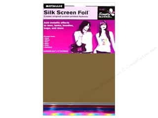 Metal Clearance Crafts: Plaid Simply Screen Foil Pack 6pc