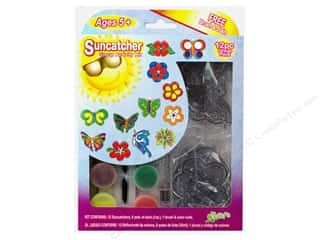 Suncatchers Kelly's Suncatcher Group Pack: Kelly's Suncatcher Group Pack Butterfly/Flower 12pc