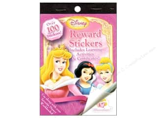 Reward Stickers Disney Princess Book